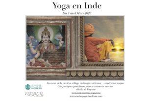 affiche yoga en inde 2020 nataraja