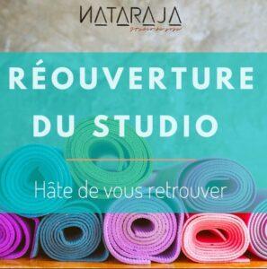 Réouverture des séances Nataraja Yoga